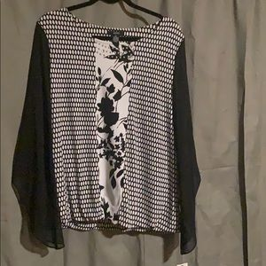 Women's Alfani dress shirt size XL NWT